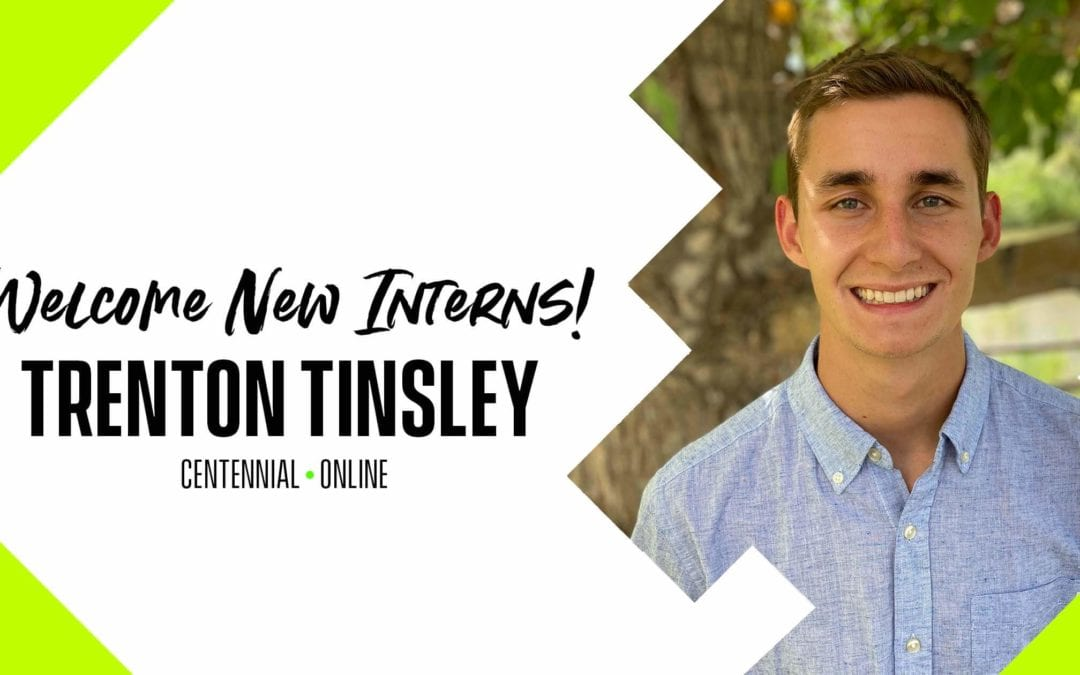 Intern Interviews – Trenton Tinsley