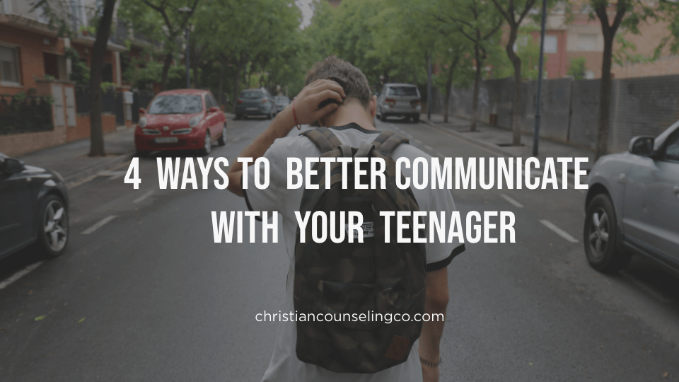 communicate with your teenager
