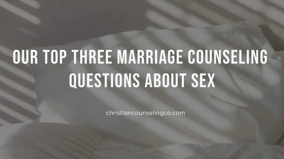 questions about marriage and sex