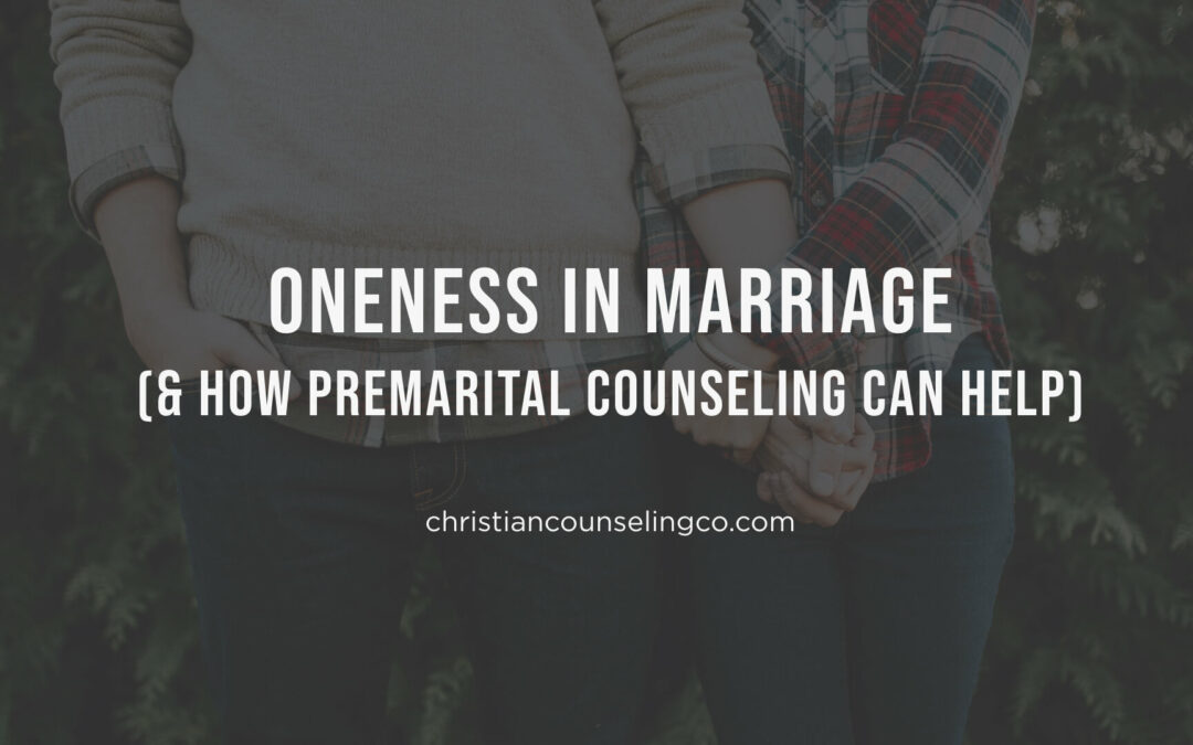 Oneness in Marriage (And How Premarital Counseling Can Help)