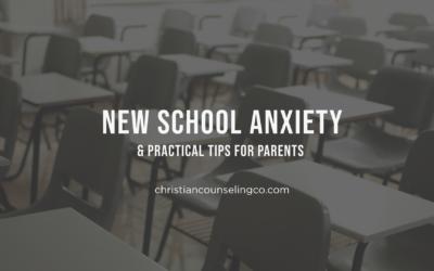 New School Anxiety